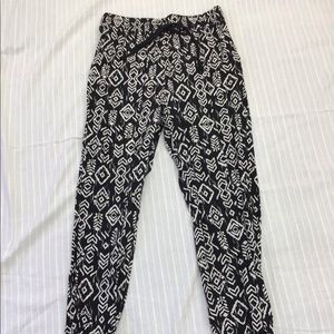 FOREVER 21 COTTON JOGGERS